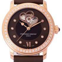 Frederique Constant Ladies Automatic Double Heart Beat pre-owned 34mm