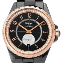 Chanel Or rose Remontage automatique 36.5mm occasion J12