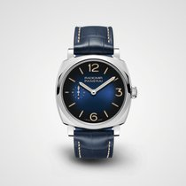 Panerai Luminor Base Steel Blue United States of America, New York, New York
