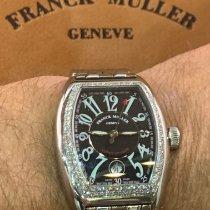 Franck Muller Conquistador Acero Negro Arábigos