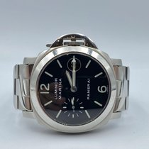 Panerai Acier Remontage automatique Noir Arabes 40mm occasion Luminor Marina Automatic