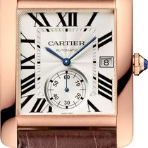 Cartier Tank MC Rose gold Silver Roman numerals United States of America, Florida, Aventura
