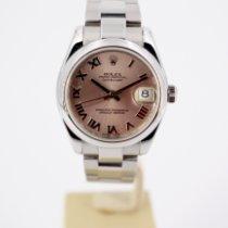 Rolex Lady-Datejust Acier 31mm Rose Romains
