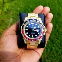 Rolex GMT-Master II Yellow gold 40mm Black No numerals United States of America, Florida, 32824