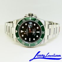 Rolex Submariner Date Steel 40mm Green No numerals United States of America, New York, Massapequa