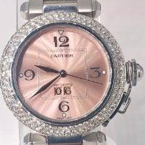 Cartier Pasha C Steel 35mm Pink Arabic numerals United States of America, Florida, Boca Raton