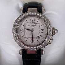 Cartier Pasha 2528 Very good White gold 32mm Automatic United States of America, Florida, Boca Raton