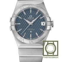 Omega Constellation Ladies Acier 35mm Bleu Sans chiffres