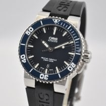 Oris Aquis Date Steel 43mm Blue United States of America, Ohio, Mason