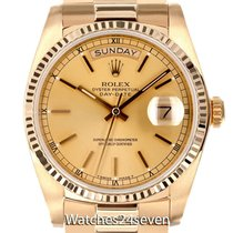 Rolex Automatic pre-owned Day-Date 36