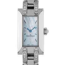 Jaeger-LeCoultre Ideale Steel 30mm Mother of pearl Arabic numerals