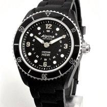 Alpina Horological Smartwatch Сталь 36mm Черный