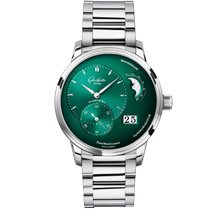Glashütte Original PanoMaticLunar new 2021 Automatic Watch with original box and original papers 1-90-02-13-32-70