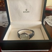 Rolex Platinum Manual winding Mother of pearl Arabic numerals 38mm pre-owned Cellini