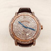 Graf Rose gold Automatic graffStar Slim Customized Diamond pre-owned