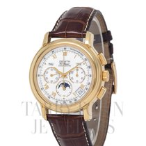Zenith El Primero Chronomaster pre-owned 40mm White Moon phase Chronograph Date Month Buckle