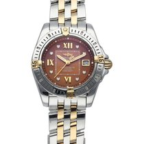 Breitling Cockpit Lady Steel 31mm Brown United States of America, New York, New York