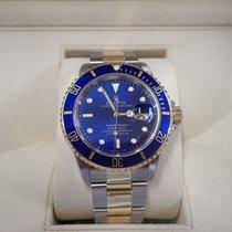 Rolex Submariner Date Gold/Steel 40mm Blue No numerals United Kingdom, Doddinghurst