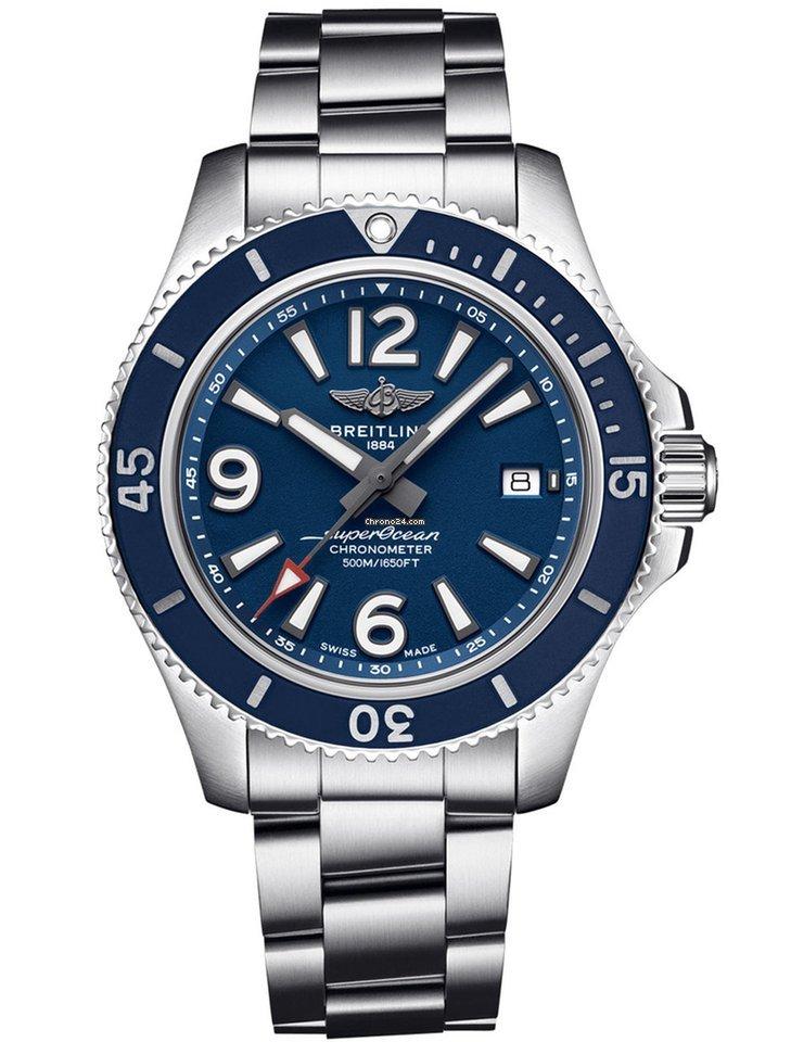 Breitling Superocean 42 A17366D81C1A1 2021 new