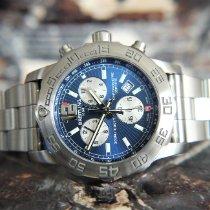 Breitling Colt Chronograph II Stahl Blau