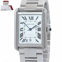 Cartier Tank Solo Steel 40mm Silver Roman numerals United States of America, New York, Huntington