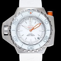 Omega Seamaster PloProf Steel 55mm White United States of America, California, Burlingame
