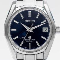 Seiko Grand Seiko Titanium 40 mmmm Blue No numerals