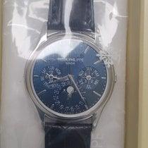 Patek Philippe Perpetual Calendar Platinum 40mm Blue No numerals United States of America, New York, Manhattan