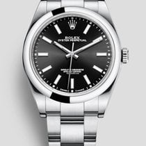 Rolex Oyster Perpetual 26 Steel 26mm Black No numerals United States of America, New York, New York