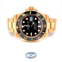 Rolex Submariner Date Yellow gold 40mm Black No numerals United States of America, California, Beverly Hills