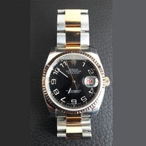 Rolex Datejust Acero y oro 36mm Negro Arábigos México, San Agustín, Etla