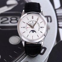 Patek Philippe Perpetual Calendar Platinum 39.5mm Silver Arabic numerals