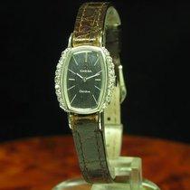 Omega White gold Manual winding 18.6mm pre-owned Genève