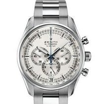 Zenith El Primero 36'000 VpH Steel 42mm Silver United States of America, California, Newport Beach