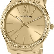 Jacques Lemans Classic Rome Gold/Steel 37mm Gold