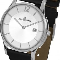Jacques Lemans Classic London Steel 38mm Silver