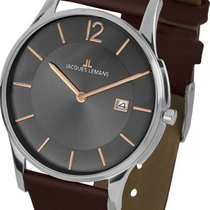 Jacques Lemans Classic London Steel 38mm Brown