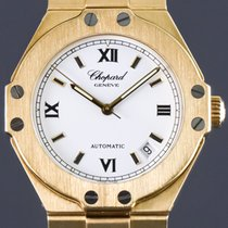 Chopard St. Moritz Yellow gold 38mm White