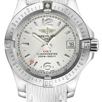 Breitling Colt Lady Steel 33mm Silver Arabic numerals United States of America, California, Moorpark