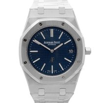 Audemars Piguet Royal Oak Jumbo Ατσάλι 39mm Μπλέ