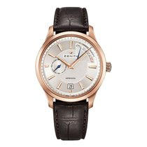 Zenith Captain Power Reserve Rose gold 47mm Silver