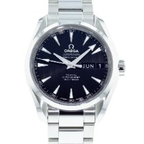 Omega Seamaster Aqua Terra Сталь 38.5mm Черный