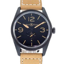 Bell & Ross Vintage pre-owned 41mm Black Date Leather
