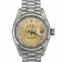 Rolex Lady-Datejust White gold 26mm Silver United States of America, New York, Massapequa Park