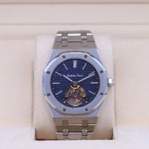 Audemars Piguet Royal Oak Tourbillon Steel 41mm Blue No numerals United States of America, Tennesse, Nashville