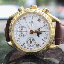 Omega Speedmaster Day Date Or jaune Blanc Arabes