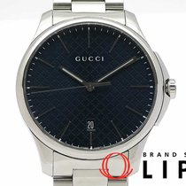 Gucci G-Timeless Acero 39mm Azul