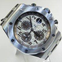 Audemars Piguet Royal Oak Offshore Chronograph Acier 42mm Brun Arabes