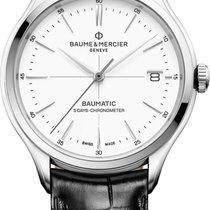 Baume & Mercier Clifton Stahl 40mm Weiß Deutschland, Berlin