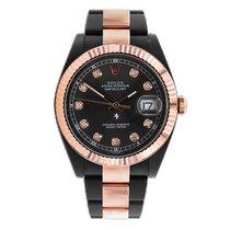 Rolex Rose gold Automatic Black 41mm new Datejust II